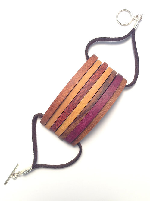 Colors - Wood Bracelet