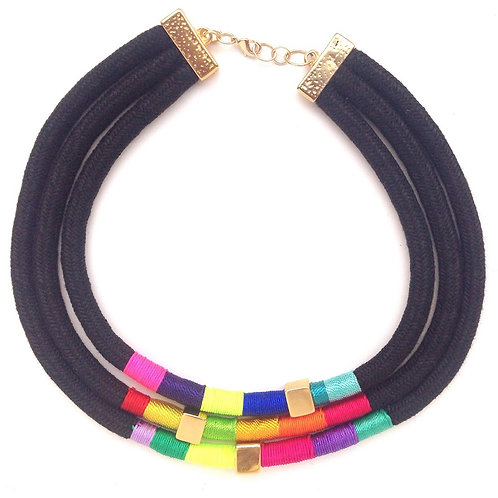 Triple Amazon Necklace