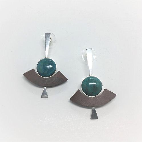 Water Drop Ancla - Malachite Cased