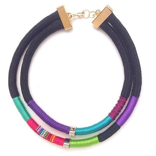 Double Amazon Necklace