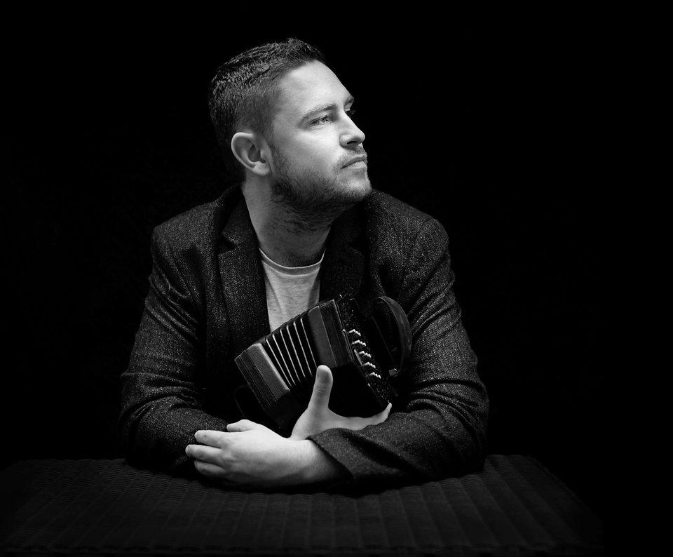 Irish Concertina Player Jack Talty