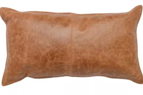 "Leather 14"" x 26"" Pillow"