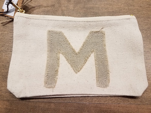 """Initial Pouch """"M"""""""
