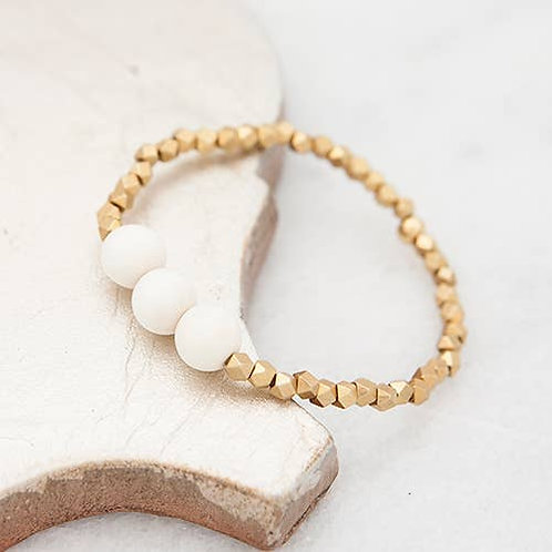 Stretch Bracelet, white