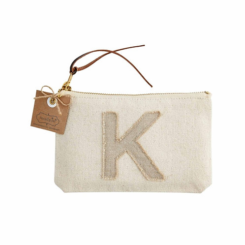 """Initial Pouch """"K"""""""
