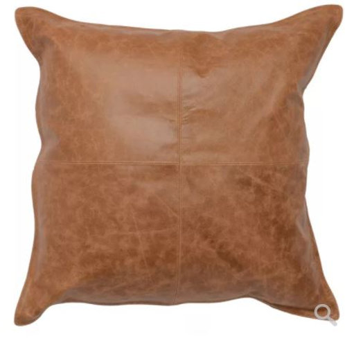 Leather 22 x 22 Pillow