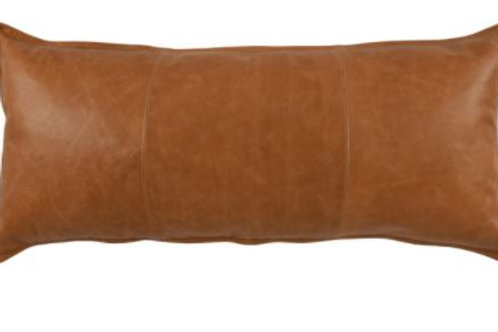 "16"" x 36"" Leather Pillow"