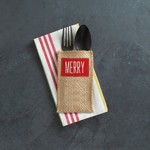 Merry Cutlery Pouches