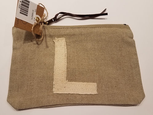 """Initial Pouch """"L"""""""