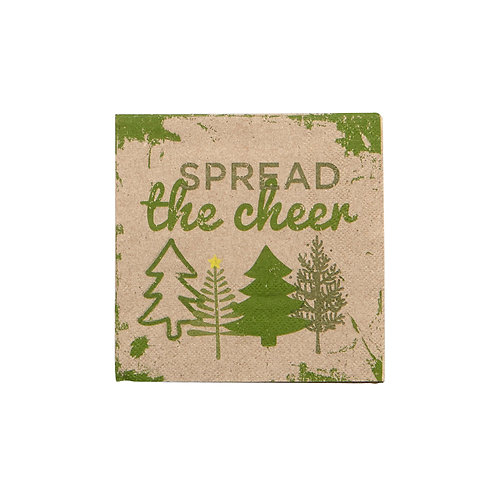 Spread the Cheer Cocktail Napkins