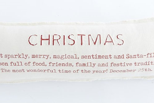 Christmas Definition Pillow