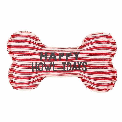 Happy Howl-idays Dog Toy
