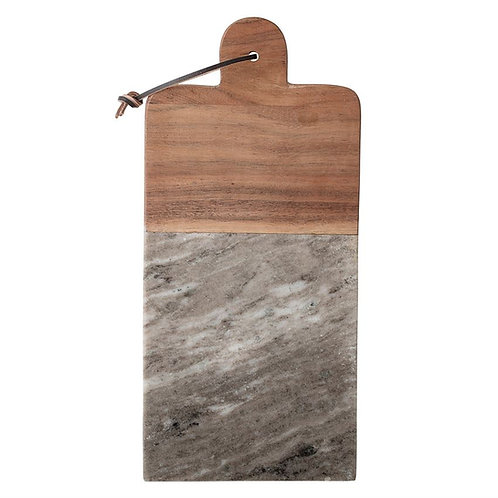 Marble & Acacia Wood cutting/serving board