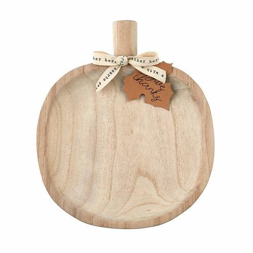 Round Pumpkin Tray