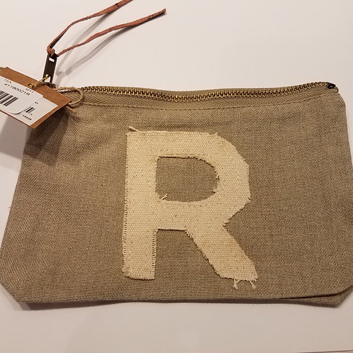 "Initial Pouch ""R"""