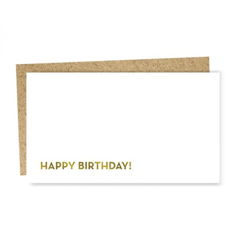 "Enclosure Card ""Happy Birthday"""