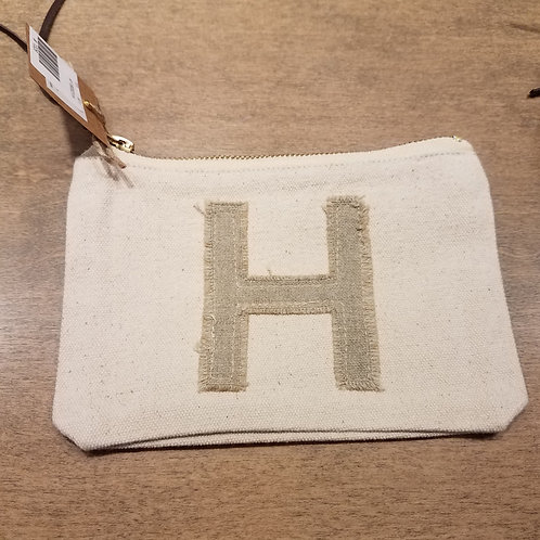 """Initial Pouch """"H"""""""