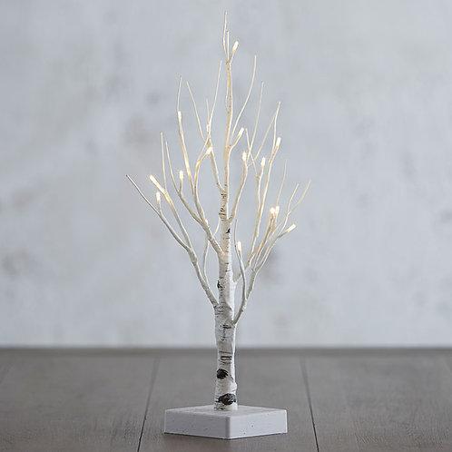 "18.25"" Lighted Birch Tree"
