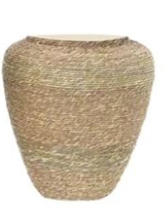 SEAGRASS ROPE JAR