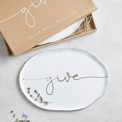 Ceramic Tray (gift boxed)