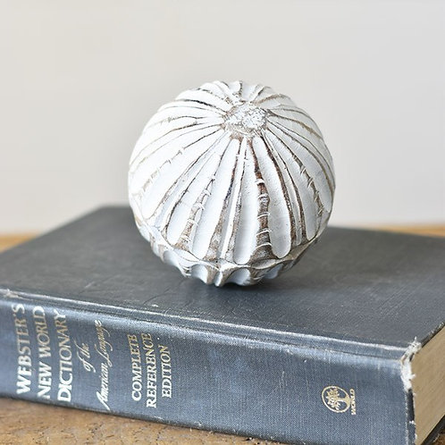 Carved Wood Ball