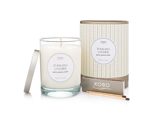 Kobo D'Anjou Lychee Candle