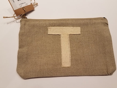 "Initial Pouch ""T"""