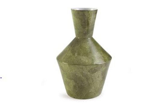 Large Green Pottery Vase