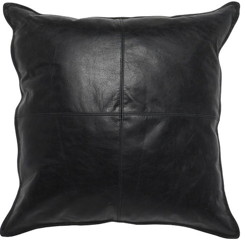 """22""""x 22"""" Leather Pillow"""