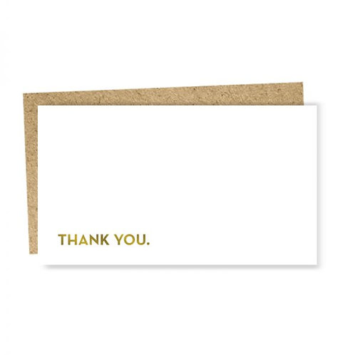 "Enclosure Card ""Thank you"""