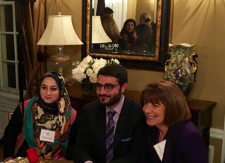 Ambassador Mohib Reaffirms Commitment to Afghan Women's Education at The Initiative First Annual Awa