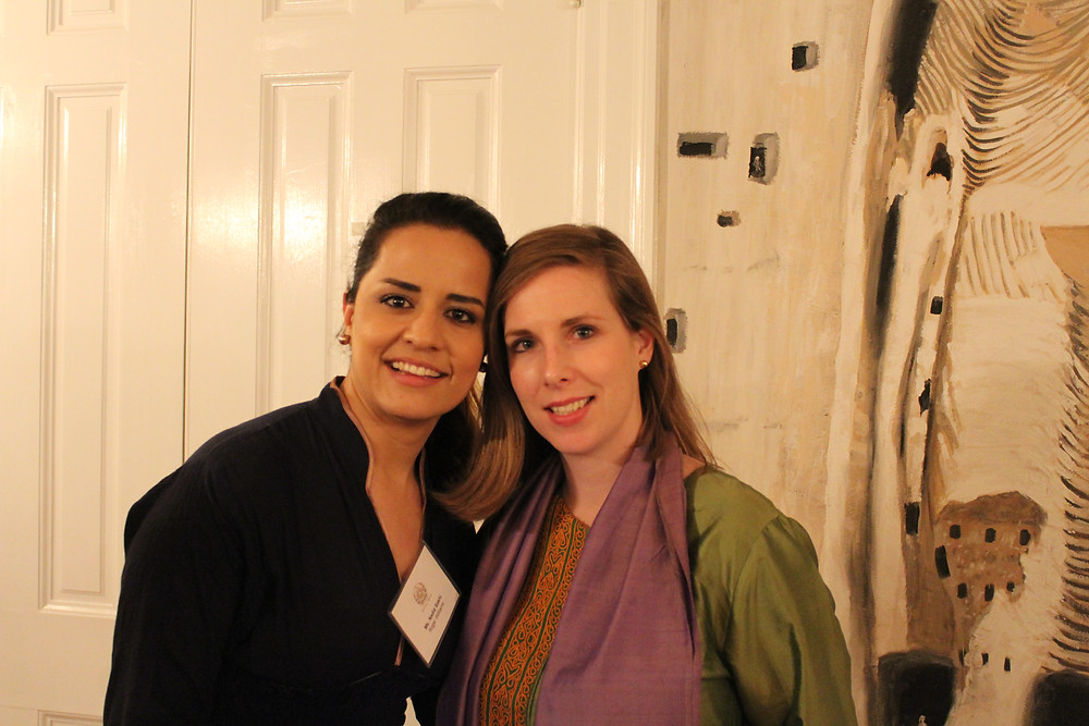 Nadia Sakhi (Roger Williams 2010 with Annual Awards Dinner Co-Host, Mrs. Lael Mohib,