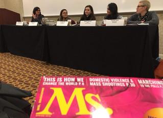 Alumnae Speak on Two Panels at Feminist Majority Foundation Leadership Conference