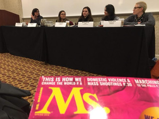 Alumnae Speak on Two Panels at Feminist Majority Foundation Leadership Conference