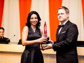 Executive Director Receives WomenTogether's Humanitarian Award at United Nations