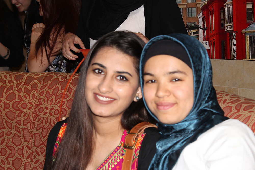 Balqees Sayed (Russell Sage 2020) with Fereshta Noori (Smith College 2017)