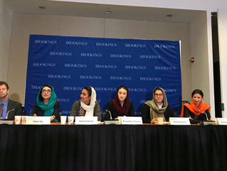 Adela Raz and The New Generation of Afghan Women Leaders Delegation