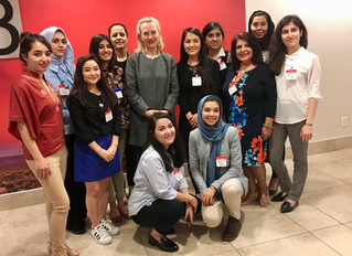 Leadership Academy 2018 Highlight:    Meeting with Ambassador Wells