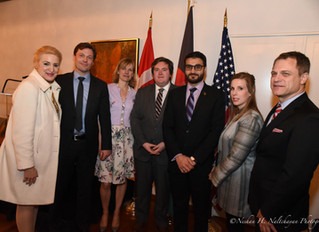 Danish Embassy Reception for Students and Alumnae of The Initiative