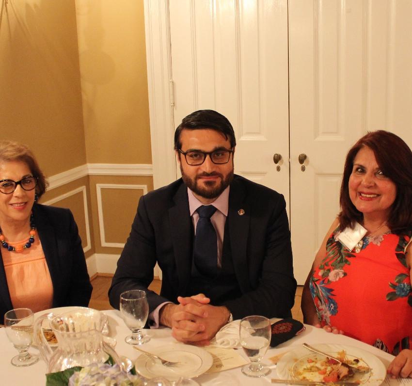 Afghan Embassy Dinner
