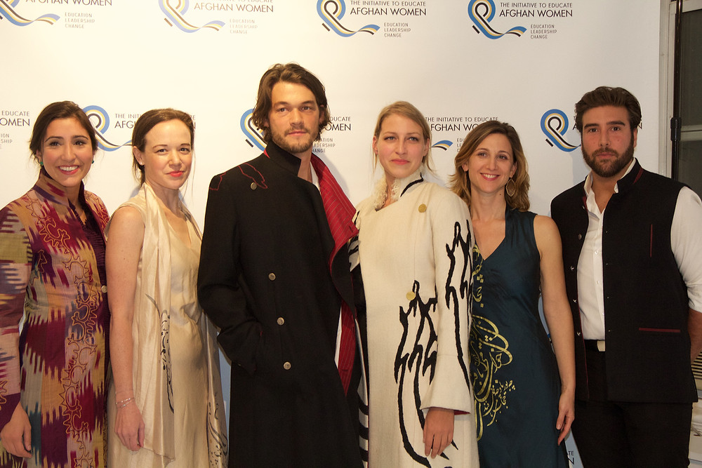 Left to right: Alexandra Woodhouse, Abigail Cuthbertson, Robin Ryczek, Eleanor Dubinsky and Evan Woodhouse