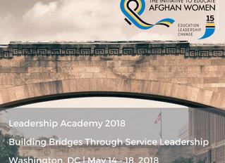 Leadership Academy 2018: Building Bridges Through Service Leadership