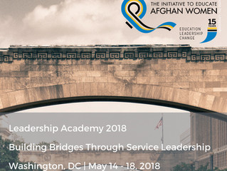 Leadership Academy 2018: Building Bridges Through Service Leadership