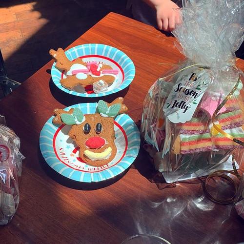 Some very creative Gingerbread reindeer