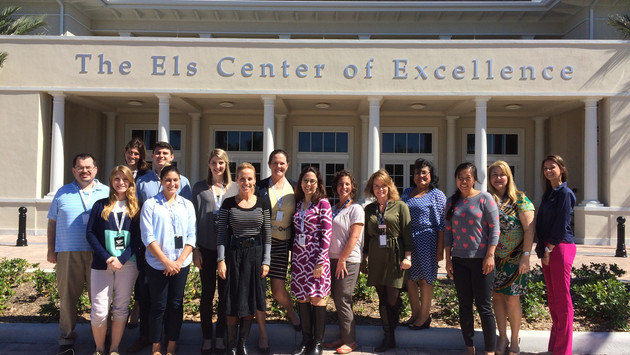 Magda Mostafa visits the Els for Autism Els Center for Excellence to discuss and implement the ASPEC
