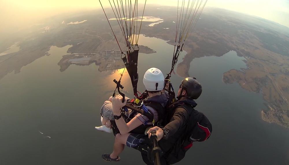 XC Tandem Paragliding Hunter Valley