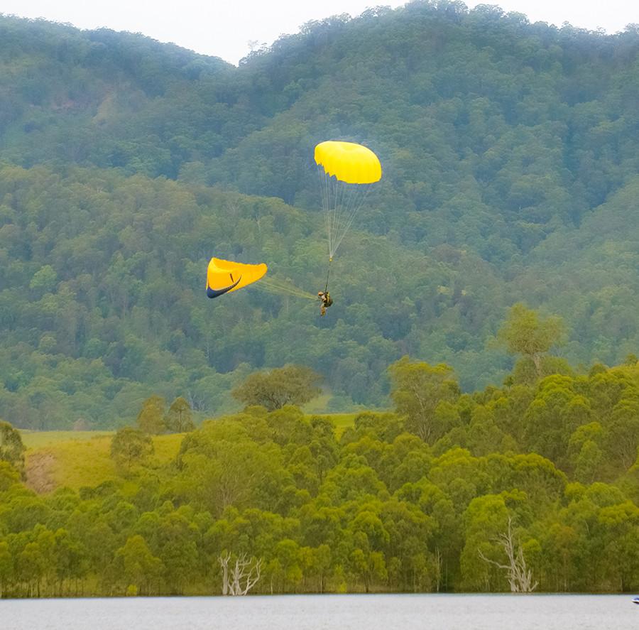 Paraglider reserve deployment SIV COURSE