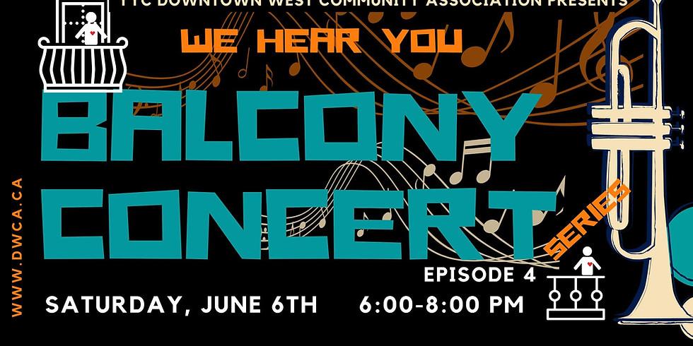 DWCA Balcony Concert, Episode 3