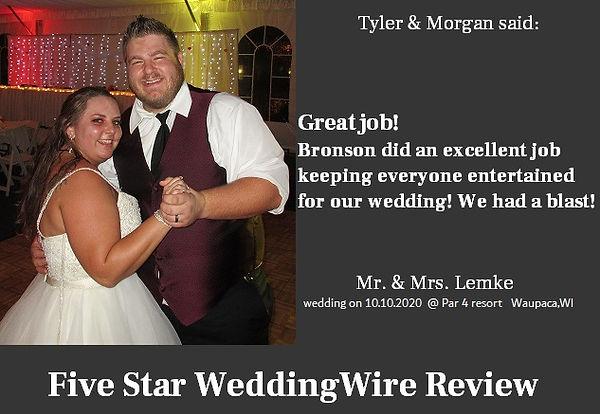 Tyler & Morgan Lemke  10.10.2020 @ par 4