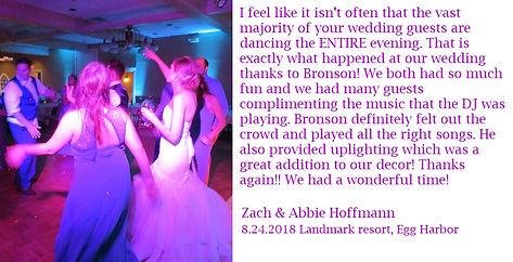 Zach & Abbie Hoffmann 8-24-18 Landmark (